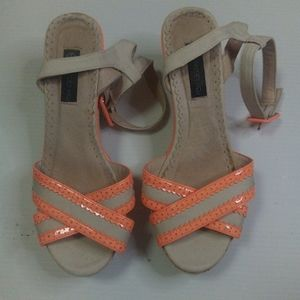 Forever new Wedge heels size 8 PREOWNED CONDITION